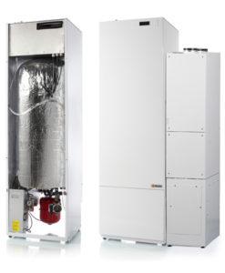 Nilan VGU 250 EK9 + Alig laiteyhdistelmä ilmanvaihdolla ja lämmöntalteenotolla