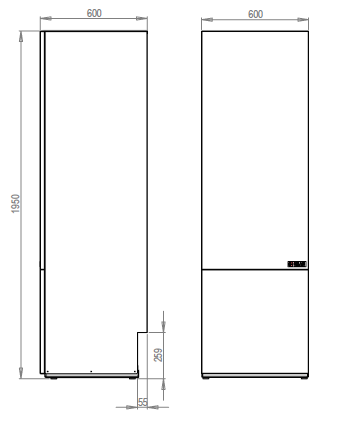 mittakuva nilan sv 300 combi lisävaraaja